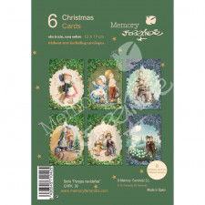Christmas Ferrándiz, serie PAREJAS NAVIDEÑAS,  Pack 6 tarjetas nuevas Memory Ferrándiz, CHPK 38