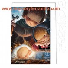 Tarjeta Christmas -TERNURA-  Memory Ferrándiz- NUEVA