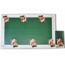 "Mantel Individual tipo hule ""Papa Noël"" (set 3 unidades)(50X34cm)"
