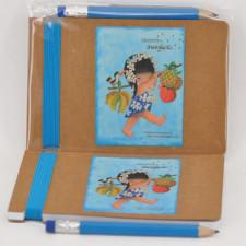 Libreta HAWAIANA  Ferrándiz + lápiz
