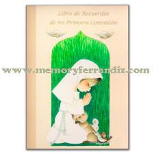 """Libro Primera Comunión """"Serie Verde Niña"""""""