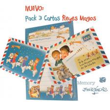 Cartas Reyes Magos Memory Ferrándiz. NUEVAS. Castellano.