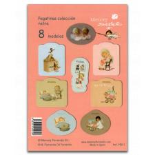 Pegatinas Ferrándiz, dibujos bebé, ilustraciones de Ferrándiz diseñadas por Memory Ferrándiz