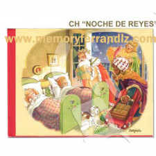 Christmas Tarjeta Ferrándiz NOCHE DE REYES, 15X19cm