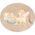 Arrullo cambiador bebé Ferrándiz  -CUNA- Color beige. Memory Ferrándiz.