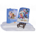 Bag gift wrapping with tag Ferrándiz, SKIING CHILDREN,  with glitter, XL